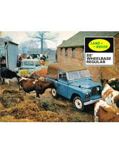 1967 LAND ROVER SERIES II & SERIES IIA PROSPEKT ENGLISCH