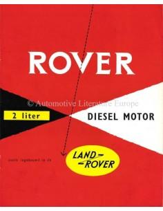 1953 LAND ROVER SERIES I PROSPEKT ENGLISCH