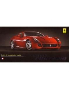 2006 FERRARI 599 GTB FIORANO BETRIEBSANLEITUNG FRANZOSISCH