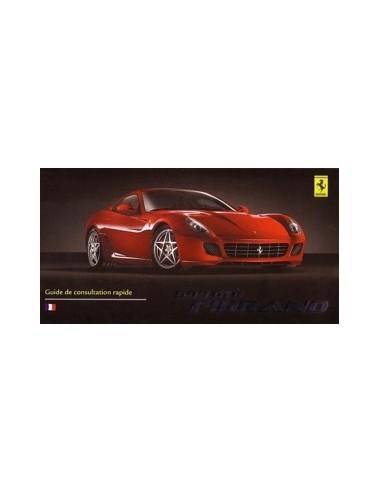 2006 FERRARI 599 GTB FIORANO INSTRUCTIEBOEKJE FRANS