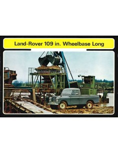 1971 LAND ROVER SERIES III BROCHURE ENGLISH