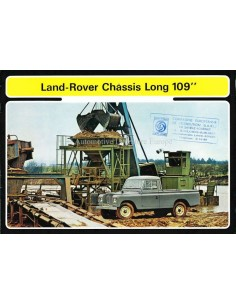 1971 LAND ROVER SERIES III BROCHURE FRENCH