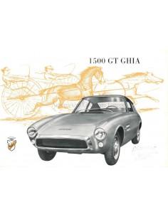 1963 GHIA 1500 GT BROCHURE
