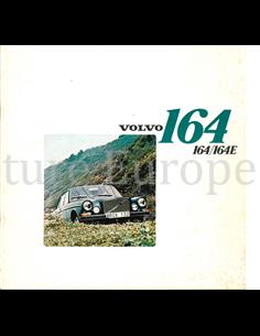 1972 VOLVO 164 E BROCHURE DUTCH