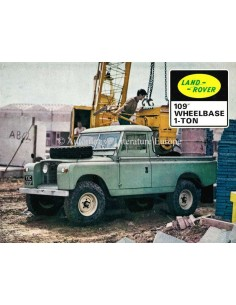 1974 LAND ROVER SERIES III BROCHURE ENGLISH