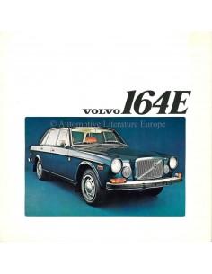 1972 VOLVO 164 E BROCHURE ENGLISH