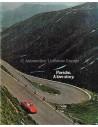 1970 PORSCHE 911 BROCHURE ENGELS (USA)