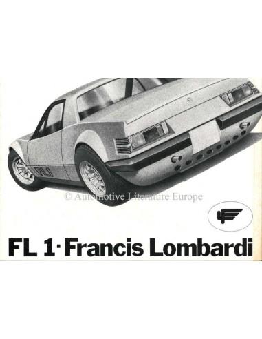 1972 FRANCIS LOMBARDI FL1 PROSPEKT ITALIENISCH