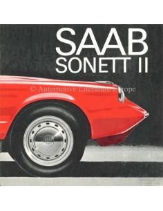 1966 SAAB SONETT BROCHURE ENGELS