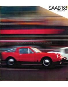1968 SAAB SONETT V4 PROSPEKT ENGLISCH