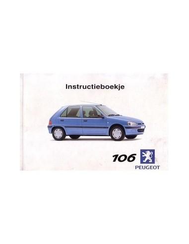 2000 PEUGEOT 106 INSTRUCTIEBOEKJE NEDERLANDS