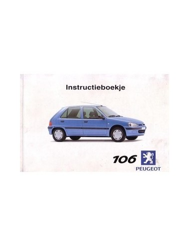2000 PEUGEOT 106 INSTRUCTIEBOEKJE NEDERLANDS