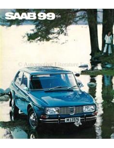 1970 SAAB 99 BROCHURE DUTCH