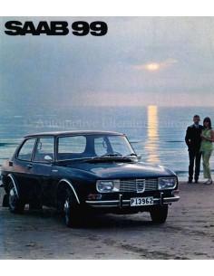 1969 SAAB 99 PROSPEKT NIEDERLANDISCH