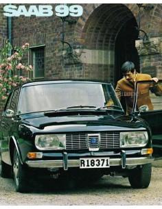 1969 SAAB 99 BROCHURE DUTCH