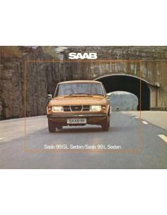 1975 SAAB 99 BROCHURE DUTCH