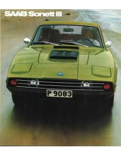 1971 SAAB SONETT BROCHURE ENGLISH (US)
