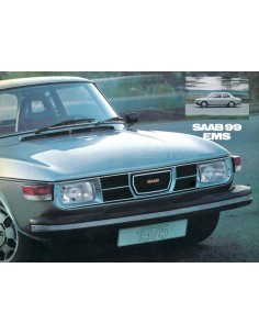 1975 SAAB 99 EMS BROCHURE DUTCH
