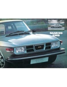 1975 SAAB 99 EMS PROSPEKT NIEDERLANDISCH