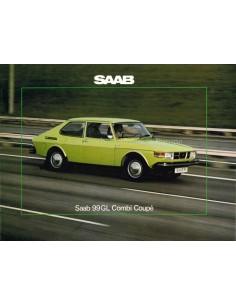 1975 SAAB 99GL COMBI COUPE BROCHURE DUTCH