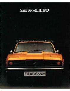 1973 SAAB SONETT BROCHURE ENGLISH (US)