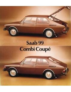 1976 SAAB 99 COMBI COUPÉ PROSPEKT ENGLISCH