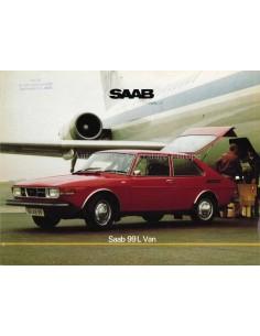 1976 SAAB 99L VAN BROCHURE DUTCH