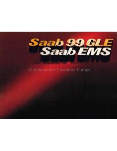 1976 SAAB 99 GLE / EMS BROCHURE DUTCH