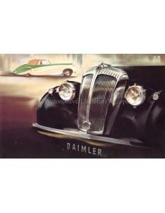 1948 DAIMLER CONSORT SALOON BROCHURE ENGELS