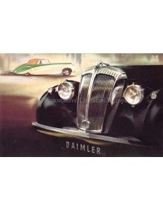1948 DAIMLER CONSORT SALOON BROCHURE ENGLISH
