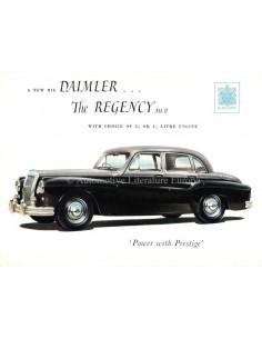1955 DAIMLER REGENCY MARK II SALOON PROSPEKT ENGLISCH