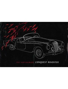 1955 DAIMLER CONQUEST ROADSTER BROCHURE ENGELS