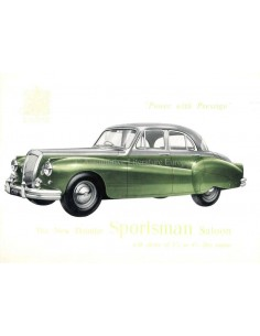 1954 DAIMLER REGENCY SPORTSMAN SALOON BROCHURE ENGELS