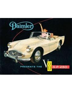 1960 DAIMLER V8 SP 250 PROSPEKT ENGLISCH