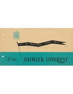 1947 DAIMLER CONQUEST PROSPEKT ENGLISCH