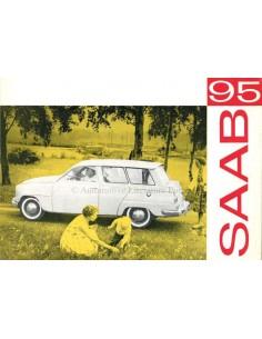 1960 SAAB 95 BROCHURE ENGELS (USA)