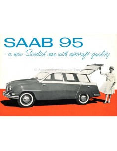 1960 SAAB 95 BROCHURE ENGLISH (US)
