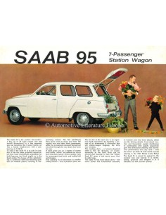 1962 SAAB 95 BROCHURE ENGLISH (US)