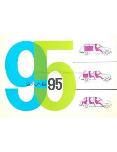 1963 SAAB 95 BROCHURE ENGELS (USA)