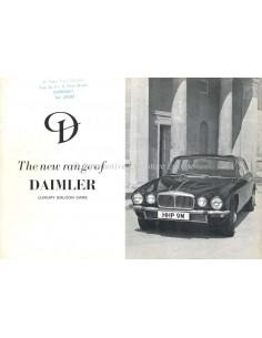 1970 DAIMLER SOVEREIGN / LIMOUSINE BROCHURE ENGLISH