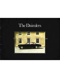 1974 DAIMLER SOVEREIGN / DOUBLE-SIX PROGRAMM PROSPEKT ENGLISCH