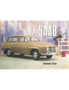 1964 SAAB 95 BROCHURE ENGELS (USA)
