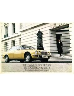 1976 DAIMLER DOUBLE-SIX / SOVEREIGN FOUR-DOOR BROCHURE ENGLISH