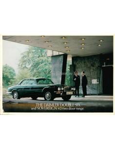 1977 DAIMLER DOUBLE-SIX / SOVEREIGN TWO-DOOR BROCHURE ENGLISH