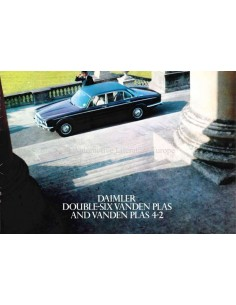 1976 DAIMLER DOUBLE-SIX VANDEN PLAS / VANDEN PLAS 4.2 BROCHURE ENGLISH