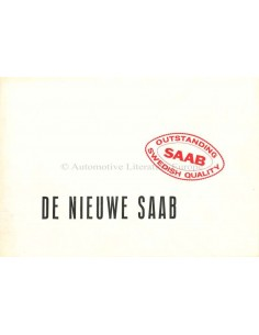 1955 SAAB 92B BROCHURE DUTCH