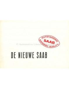 1955 SAAB 92B BROCHURE NEDERLANDS