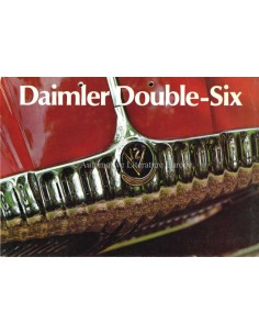 1972 DAIMLER DOUBLE-SIX BROCHURE ENGLISH