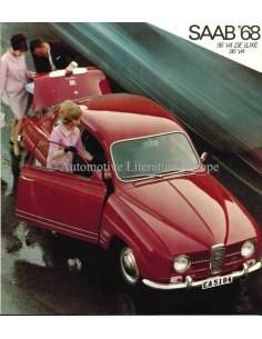 1968 SAAB 96 PROSPEKT NIEDERLANDISCH