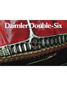 1972 DAIMLER DOUBLE-SIX PROSPEKT ENGLISCH